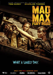 Mad Max Fury Road poster fan by Cesaria-Yohann