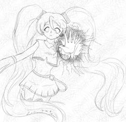 Miku Has an Accident by cathartic-dream