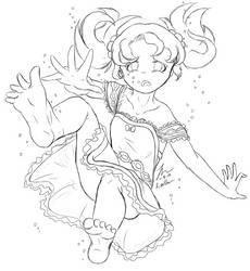 Deep-Sea Girl by cathartic-dream
