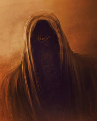 Faceless Man - Speedpainting by thenSir
