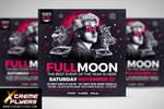 DJ Event Flyer Template by MatteoGianfreda94