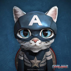 Captain American Short Hair by sugarcat-candydoggie
