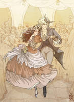 Labyrinth: The Royal Waltz by janey-jane