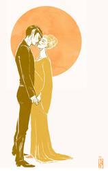 Sarek and Amanda by janey-jane
