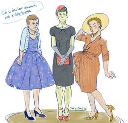vintage cocktail dresses by janey-jane