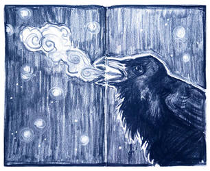 crow by janey-jane