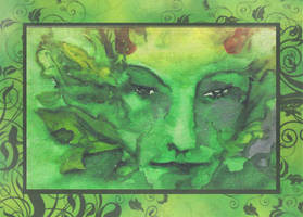 Greenman by janey-jane