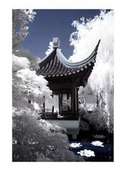 Classical Chinese Garden IR by mysteriumtremendum