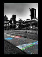 GasWorks Industrial Complex by mysteriumtremendum