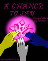 A Chance To Say - A Steven Universe Comic - Cover by Pomania