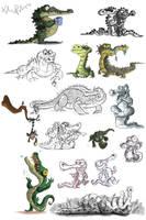 Crocodile Designs by KIRKparrish