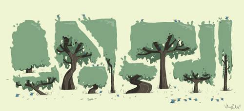 Tree Design by KIRKparrish