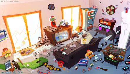 Game Room by KIRKparrish