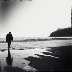 Beach Stroll by jginn