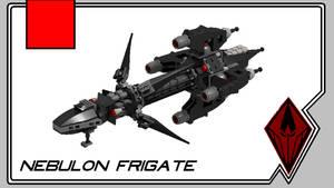 Nebulon Frigate by theomegareaper101