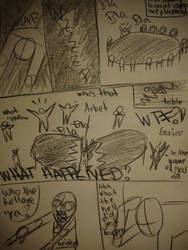 Hellsing Crossover Sketch Page One by theomegareaper101