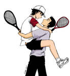 Jump Ryoma - doubles tennis by ShujiE