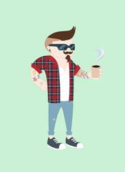 hipster by lordofALLspacebugs