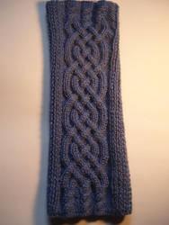 Celtic knitting for arm by XaelMcEwan