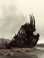 Shipwreck by DeerandFox