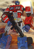 Optimus Prime by georgetremarco