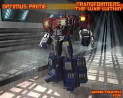 TWW Optimus Prime by georgetremarco