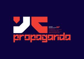 Propaganda logo 01 by designcartel