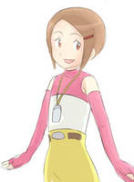 Digimon 02: Hikari by maybebaby83