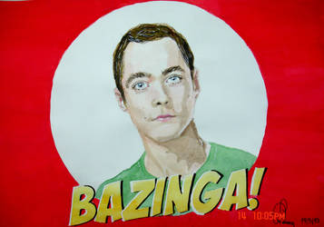 Sheldon Cooper by Princessnikoru