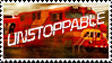 Unstoppable Stamp by MeganekkoPlymouth241