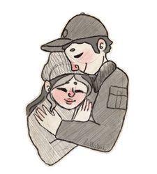 Daya and John sketch by ManiaK-PL
