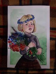 Flower girl by ManiaK-PL