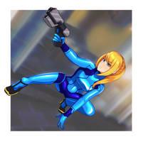 Zero suit Samus by volyzsan