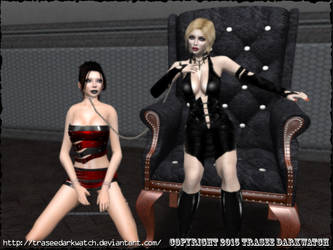 Mistress Lola with Trasee by traseedarkwatch
