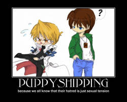Puppyshipping by CanadaisMINE