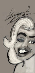Marilyn Monroe by abbydreamcutie