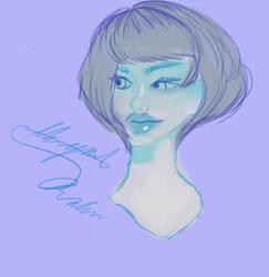 Loish fan art in my version by abbydreamcutie