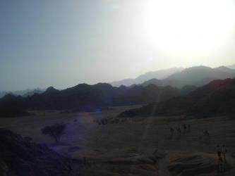 eygpt mountain by kram666
