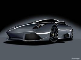 Lamborghini Murcielago Vector by BirdieNUFC