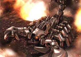 Zoids Deathpion by yamowl