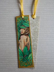 **FOR SALE** Hickory - Watercolor Bookmark by Speckled-Egg