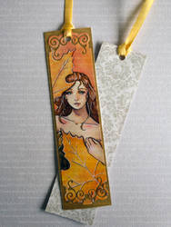 **FOR SALE** Maple - Watercolor Bookmark by Speckled-Egg
