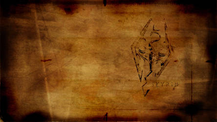 Skyrim Scroll by hodgepodgejunk