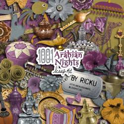 Digital Scrapbooking - 1001 Arabian Nights by Rickulein