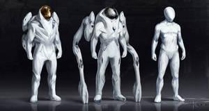 Some space suit concepts 2 by JSA-Arts