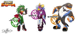 Sonic Boom! Babylon Rogues by Noxivaga