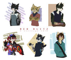 R Blitz Busts by Noxivaga