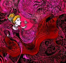 lady pink by Rawyen