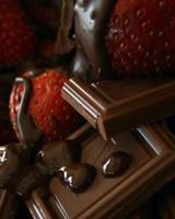 Chocolate and Strawberries 1 by NerdyArtist