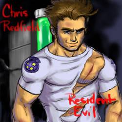Chris Redfield by SausageMix